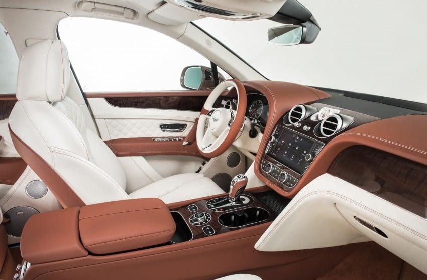 2016 Bentley Bentayga – world's fastest SUV revealed! Image #377458