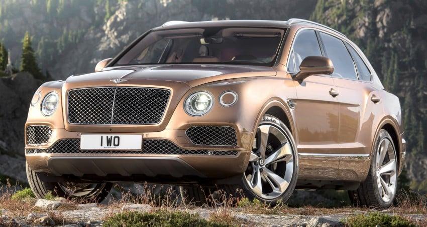 2016 Bentley Bentayga – world's fastest SUV revealed! Image #377460