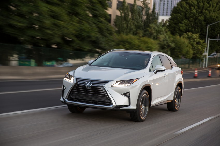 MEGA GALLERY: Lexus RX 350 and RX 450h variants Image #379489