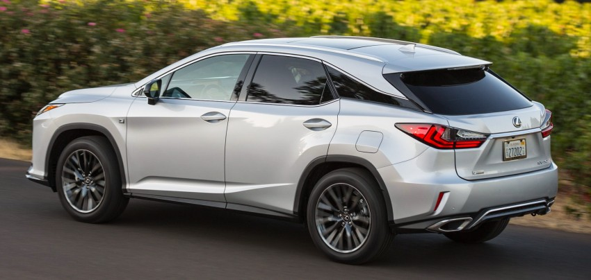 MEGA GALLERY: Lexus RX 350 and RX 450h variants Image #379490