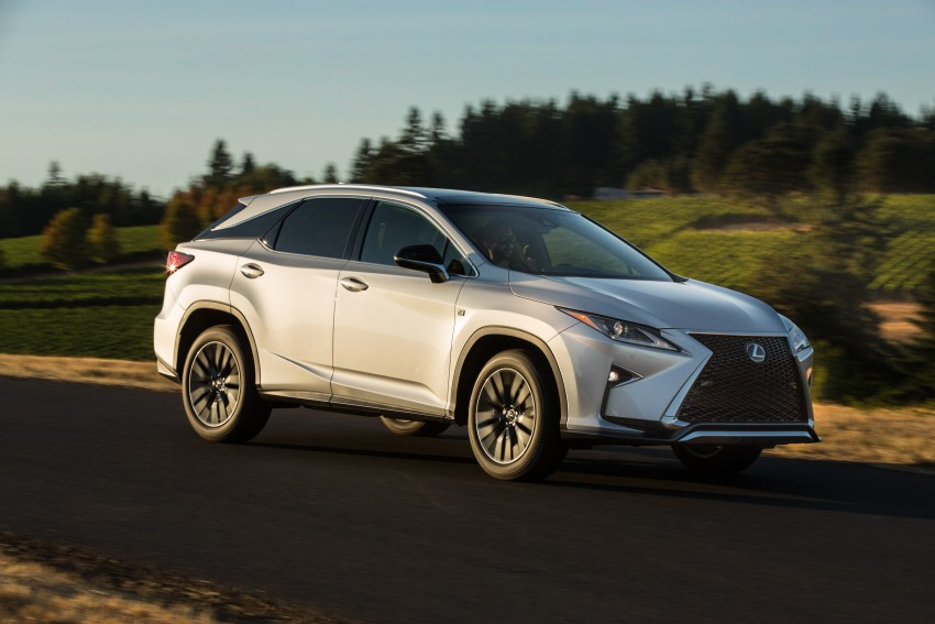 MEGA GALLERY: Lexus RX 350 and RX 450h variants Image #379498