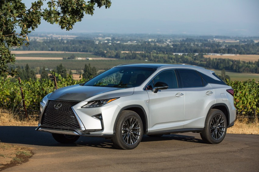 MEGA GALLERY: Lexus RX 350 and RX 450h variants Image #379502
