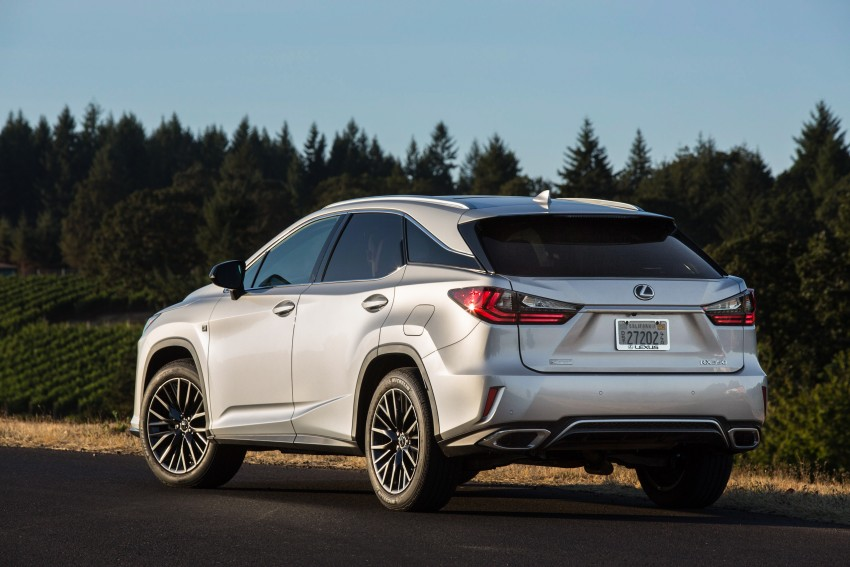 MEGA GALLERY: Lexus RX 350 and RX 450h variants Image #379503