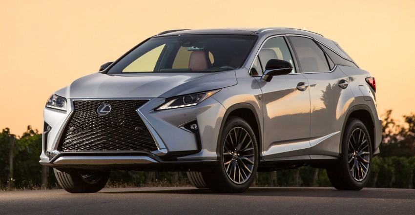 MEGA GALLERY: Lexus RX 350 and RX 450h variants Image #379510