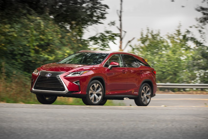MEGA GALLERY: Lexus RX 350 and RX 450h variants Image #379534
