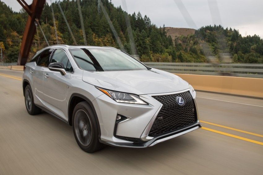MEGA GALLERY: Lexus RX 350 and RX 450h variants Image #379574