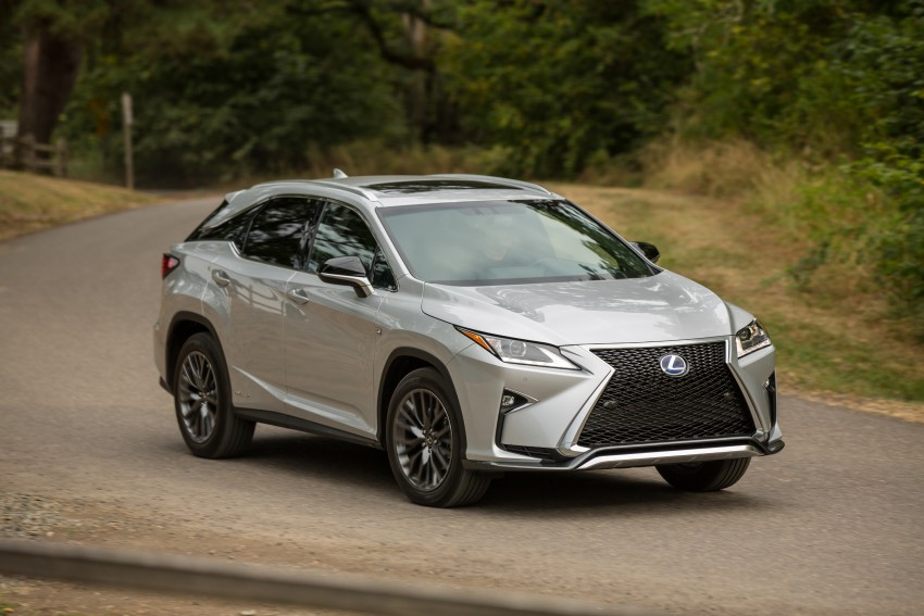 MEGA GALLERY: Lexus RX 350 and RX 450h variants Image #379583