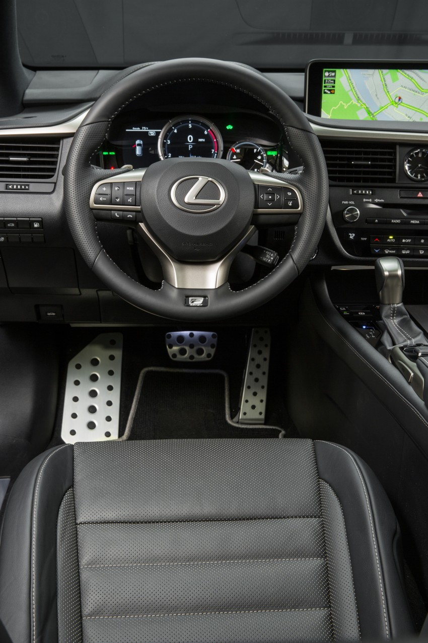 MEGA GALLERY: Lexus RX 350 and RX 450h variants Image #379559