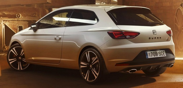 בנפט 2016 Seat Leon Cupra 290 revealed with more power RV-55