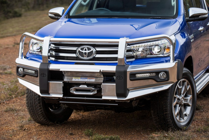 New Toyota Hilux gets over 60 accessories in Australia Image #378420