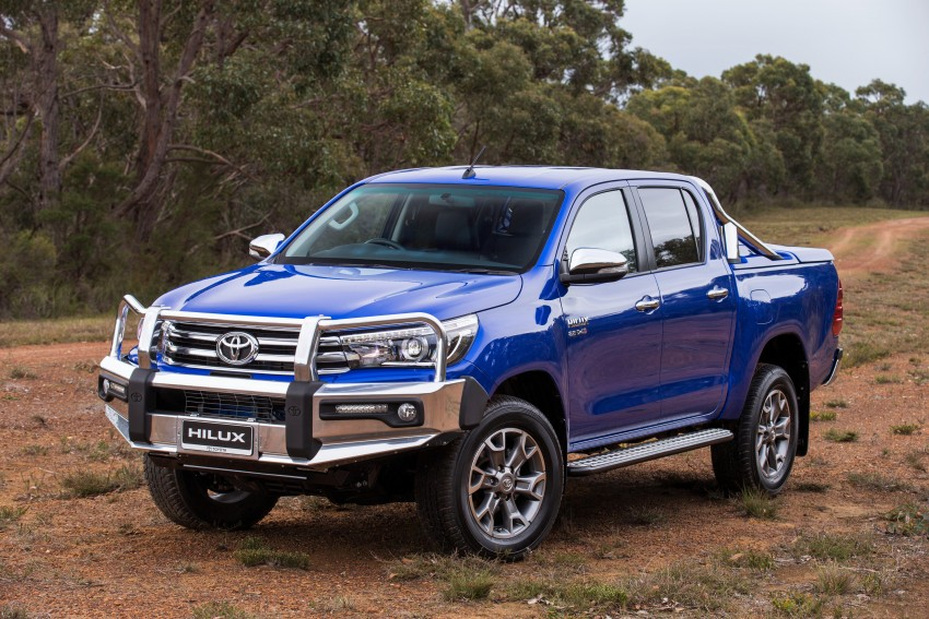 New Toyota Hilux gets over 60 accessories in Australia Image #378421