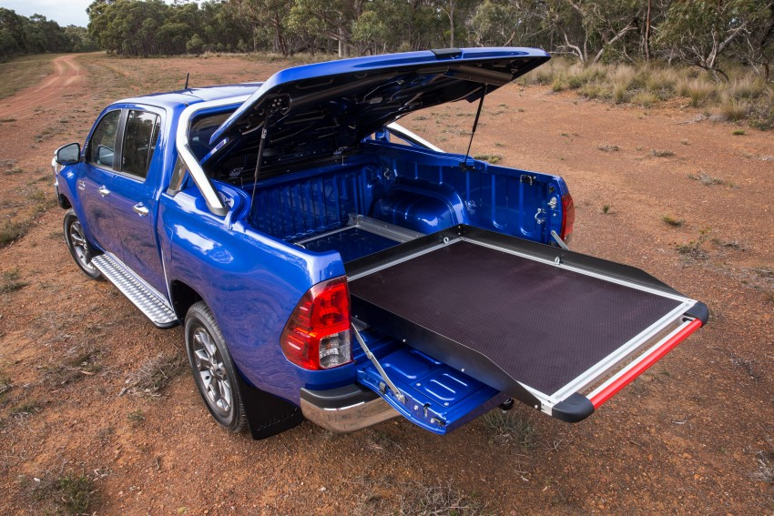 New Toyota Hilux gets over 60 accessories in Australia Image #378423