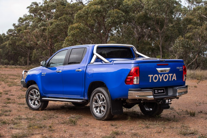 New Toyota Hilux gets over 60 accessories in Australia Image #378424