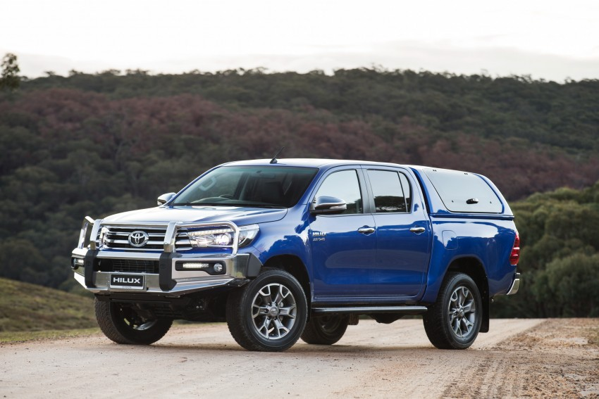 New Toyota Hilux gets over 60 accessories in Australia Image #378425