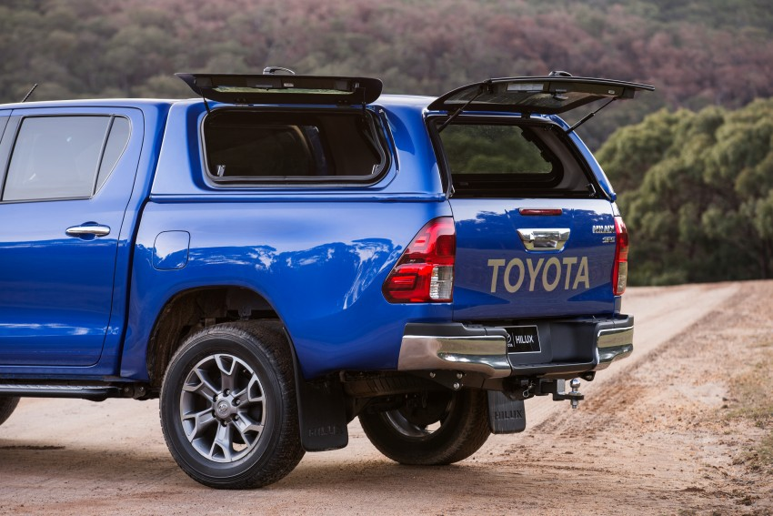 New Toyota Hilux gets over 60 accessories in Australia Image #378427