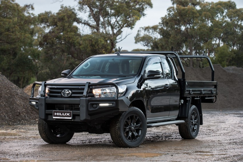 New Toyota Hilux gets over 60 accessories in Australia Image #378433
