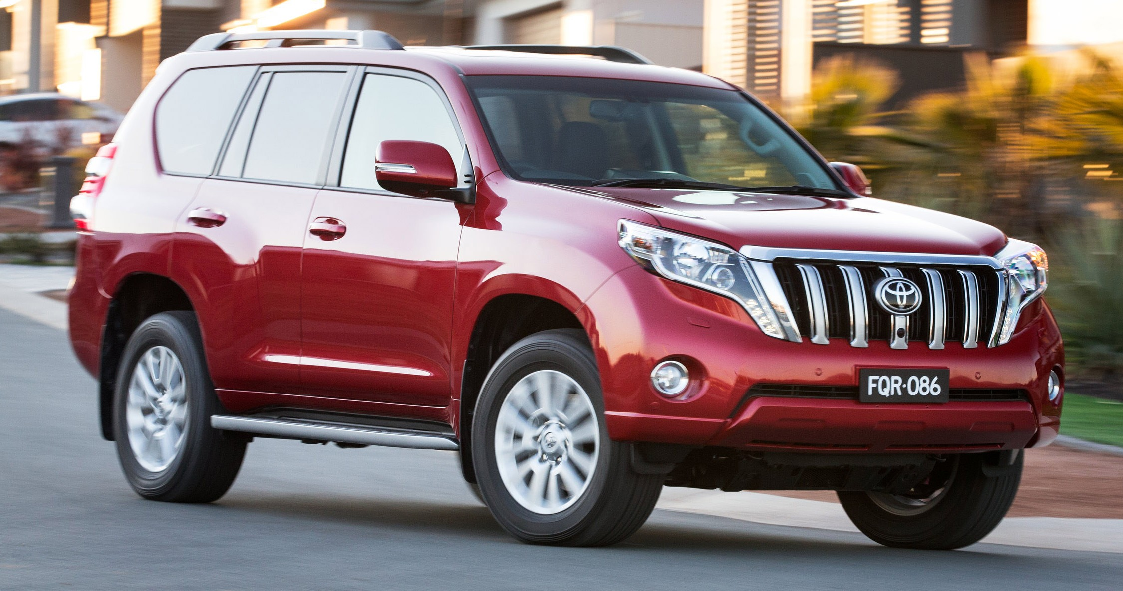 Back to Story: 2016 Toyota Land Cruiser Prado introduced in Australia