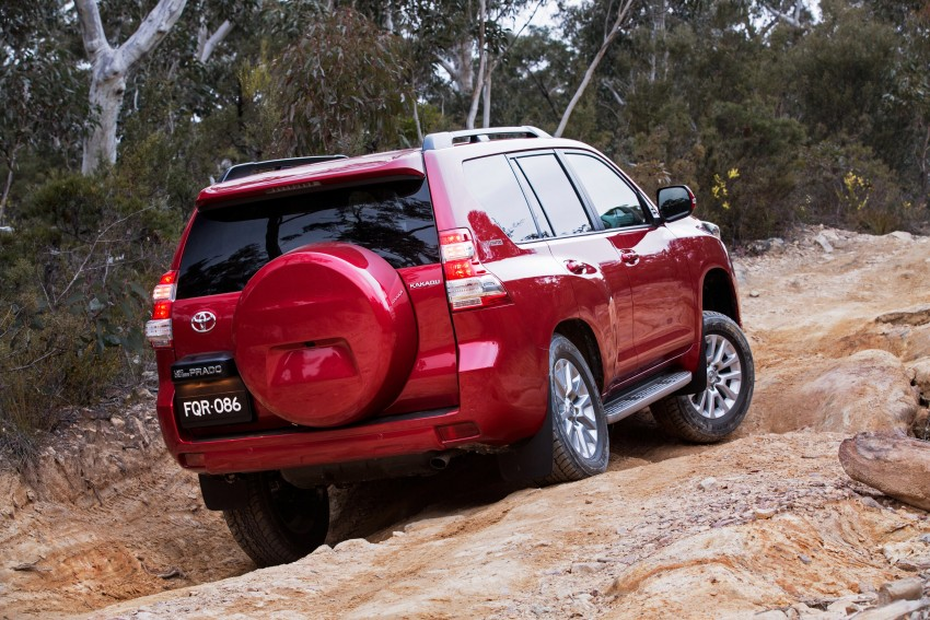 2016 Toyota Land Cruiser Prado introduced in Australia – new 2.8L turbodiesel, six-speed auto Image #373693