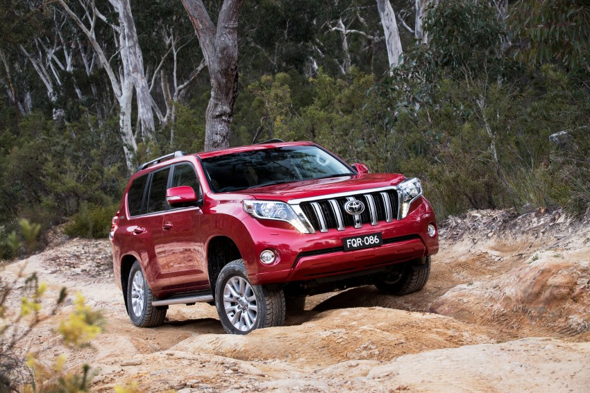 2016 Toyota Land Cruiser Prado introduced in Australia – new 2.8L turbodiesel, six-speed auto Image #373750