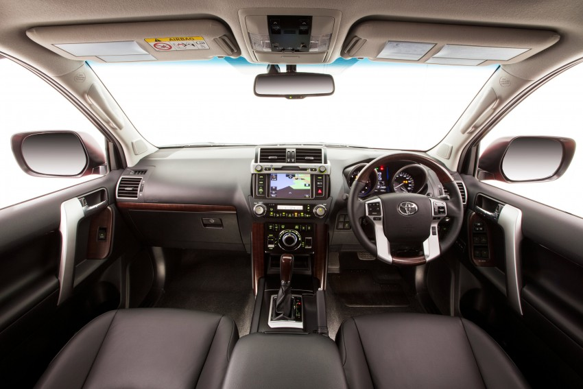 2016 Toyota Land Cruiser Prado introduced in Australia – new 2.8L turbodiesel, six-speed auto Image #373753