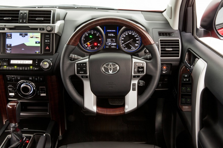 2016 Toyota Land Cruiser Prado introduced in Australia – new 2.8L turbodiesel, six-speed auto Image #373754