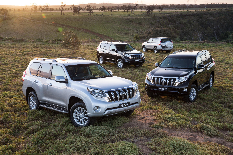 2016 Toyota Land Cruiser Prado Introduced In Australia