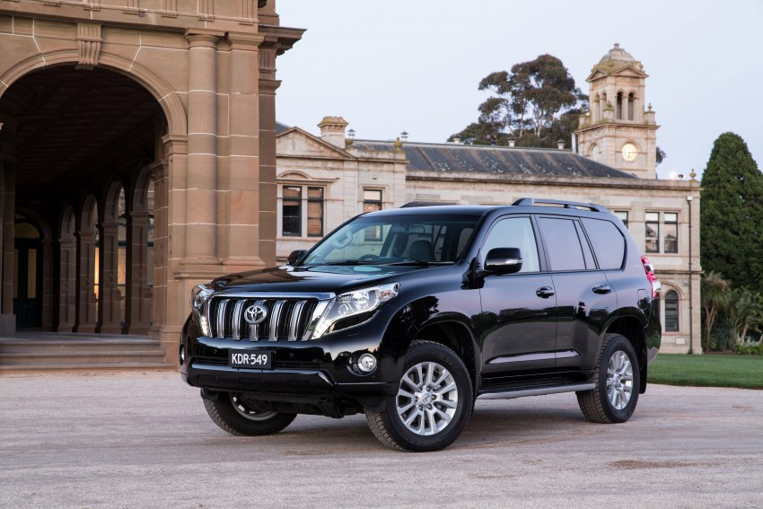 2016 Toyota Land Cruiser Prado introduced in Australia – new 2.8L turbodiesel, six-speed auto Image #373760