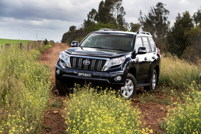 2016 Toyota Land Cruiser Prado introduced in Australia – new 2.8L turbodiesel, six-speed auto Image #373764