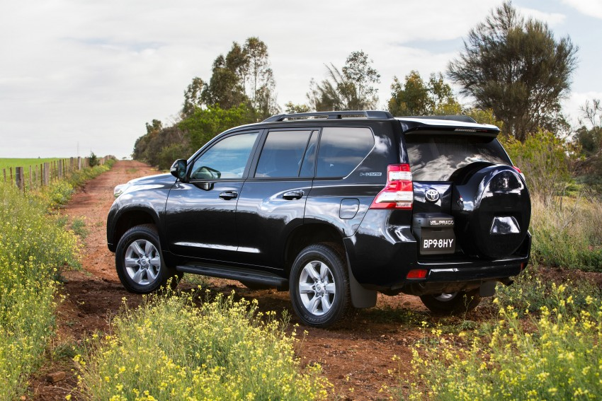 2016 Toyota Land Cruiser Prado introduced in Australia – new 2.8L turbodiesel, six-speed auto Image #373766