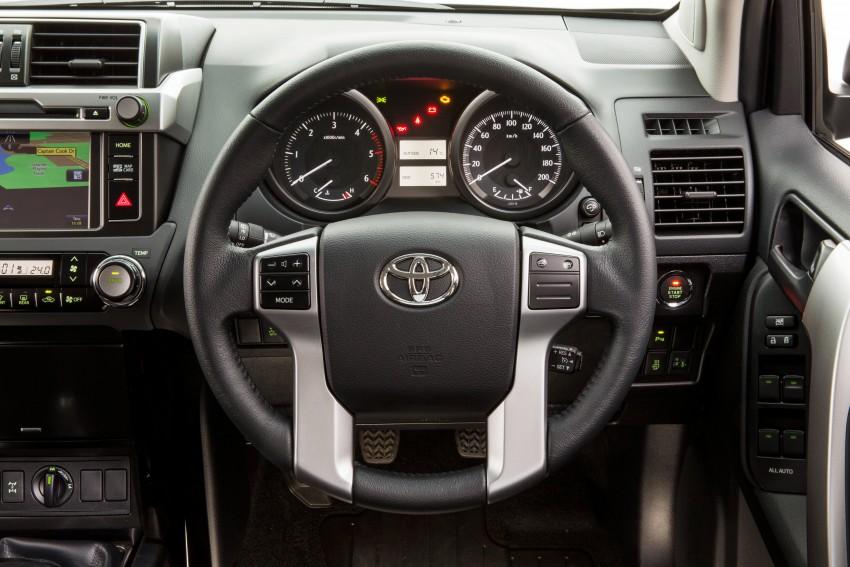2016 Toyota Land Cruiser Prado introduced in Australia – new 2.8L turbodiesel, six-speed auto Image #373769