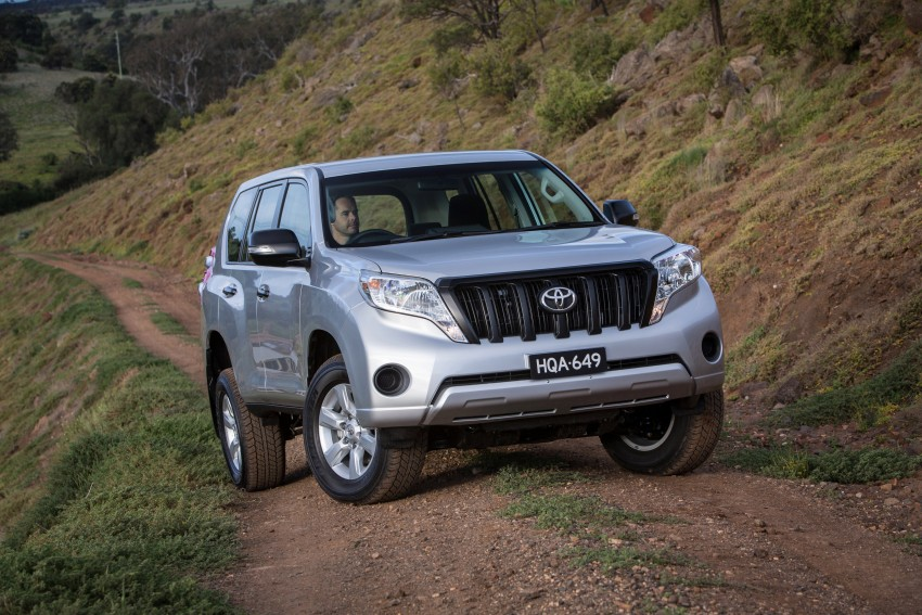 2016 Toyota Land Cruiser Prado introduced in Australia – new 2.8L turbodiesel, six-speed auto Image #373775