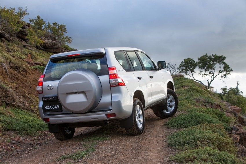 2016 Toyota Land Cruiser Prado introduced in Australia – new 2.8L turbodiesel, six-speed auto Image #373779
