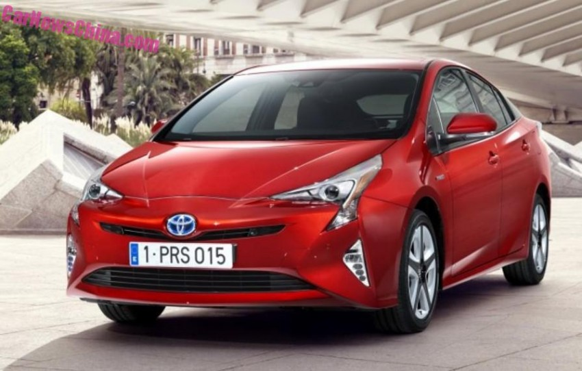 2016 Toyota Prius – official pix leaked before launch! Image #377536