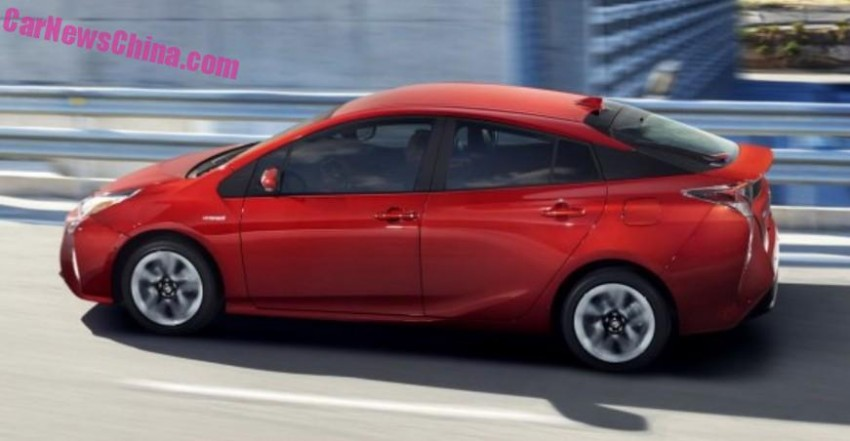 2016 Toyota Prius – official pix leaked before launch! Image #377537