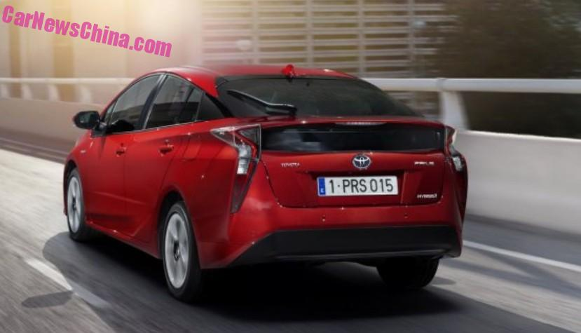 2016 Toyota Prius – official pix leaked before launch! Image #377538
