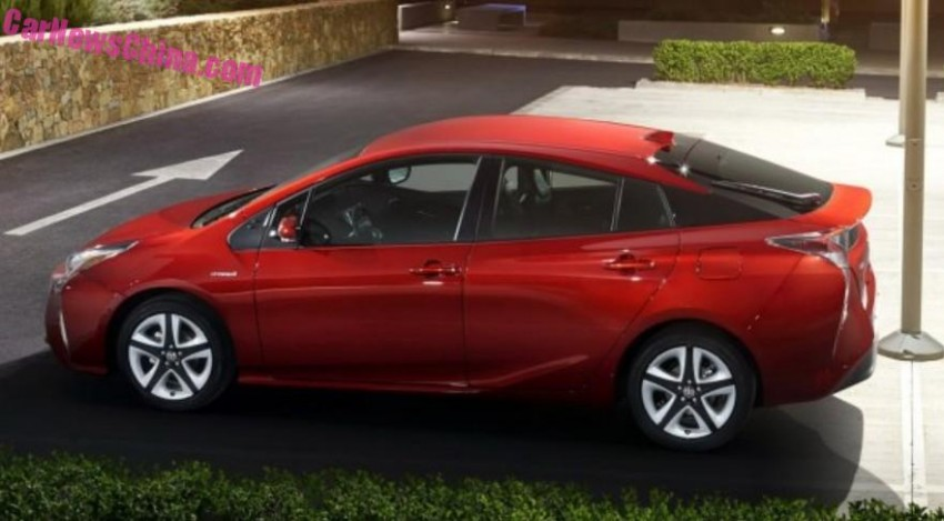 2016 Toyota Prius – official pix leaked before launch! Image #377539