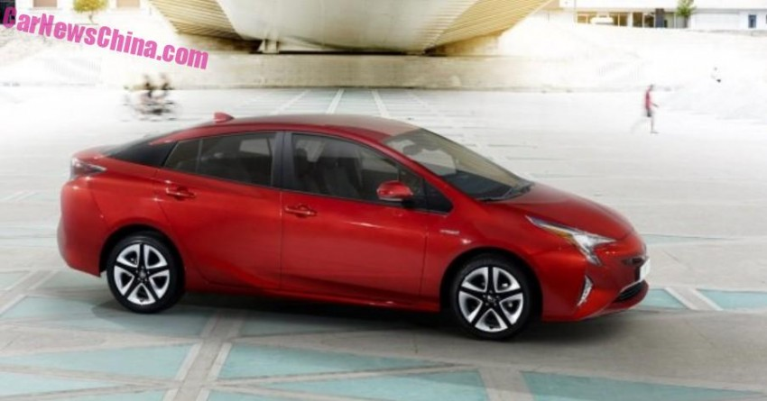 2016 Toyota Prius – official pix leaked before launch! Image #377545