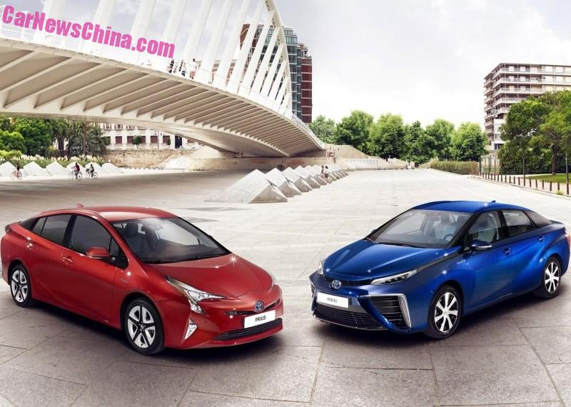2016 Toyota Prius Official Pix Leaked Before Launch Image 377546