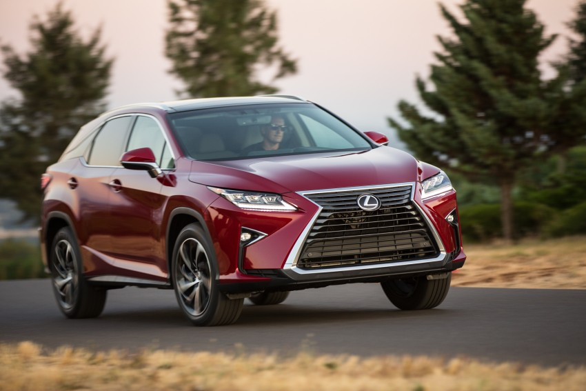 MEGA GALLERY: Lexus RX 350 and RX 450h variants Image #379456