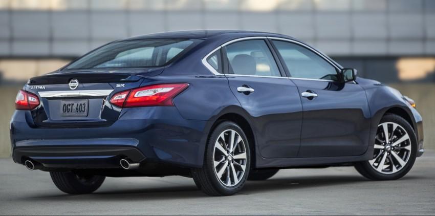 Nissan Altima facelift revealed; Teana to get revamp? Image #382831