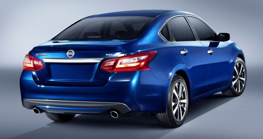 Nissan Altima facelift revealed; Teana to get revamp? Image #382829
