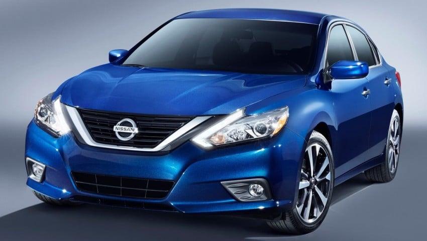 Nissan Altima facelift revealed; Teana to get revamp? Image #382830