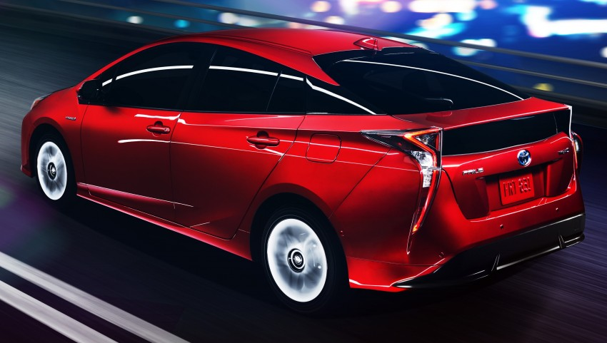 2016 Toyota Prius officially unveiled – 4th-gen hybrid promises improved fuel economy, ride and handling Image #377630