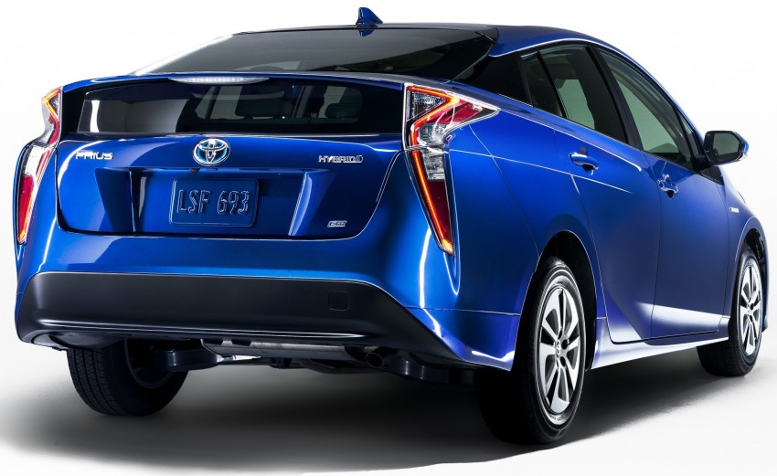 2016 Toyota Prius officially unveiled – 4th-gen hybrid promises improved fuel economy, ride and handling Image #377636