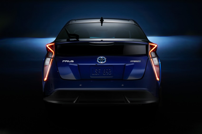 2016 Toyota Prius officially unveiled – 4th-gen hybrid promises improved fuel economy, ride and handling Image #377649