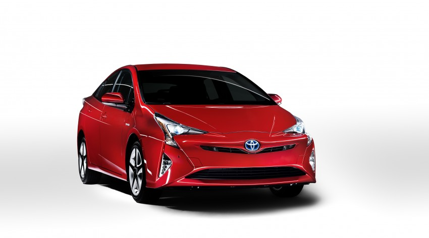 2016 Toyota Prius officially unveiled – 4th-gen hybrid promises improved fuel economy, ride and handling Image #377650