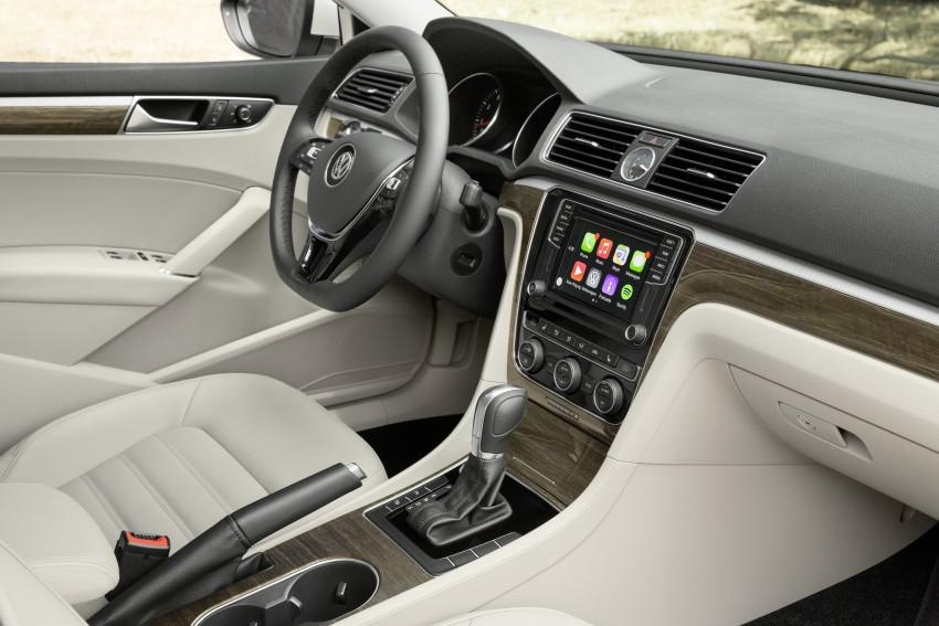 2016 Volkswagen Passat – US model receives facelift Image #382360