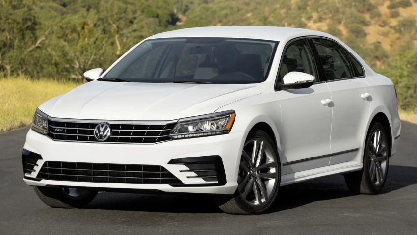 2016 Volkswagen Passat – US model receives facelift Image #382363