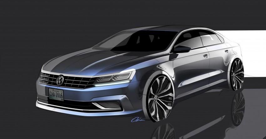 2016 Volkswagen Passat – US model receives facelift Image #382366