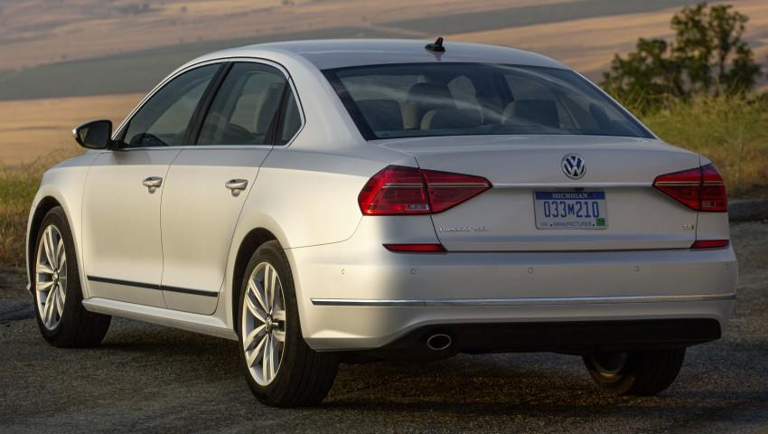 2016 Volkswagen Passat – US model receives facelift Image #382367